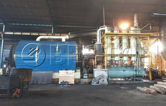 Reasonable Beston Waste Tyre Recycling Plant Cost in Indonesia