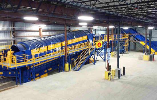 Garbage Sorting Plant for Sale