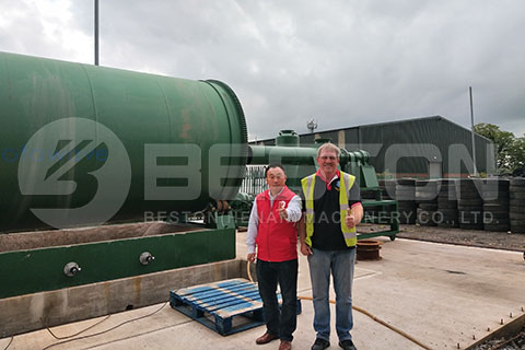 Basic Functions Of Continuous Waste Tire Pyrolysis Plant - Beston